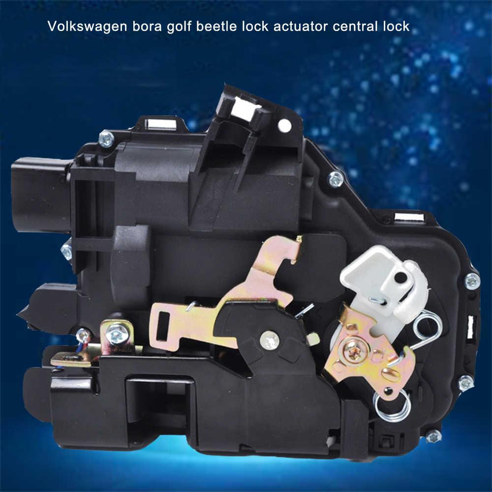 Actionneur de serrure électrique avant gauche + droite 12V pour SKODA SEAT VW Golf relais de verrouillage solénoïde 3B1837015A & 3B1837016A