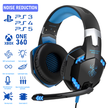 Headset Gaming Wired Game Earphones Gaming Headphones Deep Bass Stereo Casque with Microphone for PS4 New Xbox PC Laptop Gamer cheap YIKAZE Dynamic CN(Origin) None For Internet Bar for Video Game Common Headphone HiFi Headphone Kids Headphones Line Type
