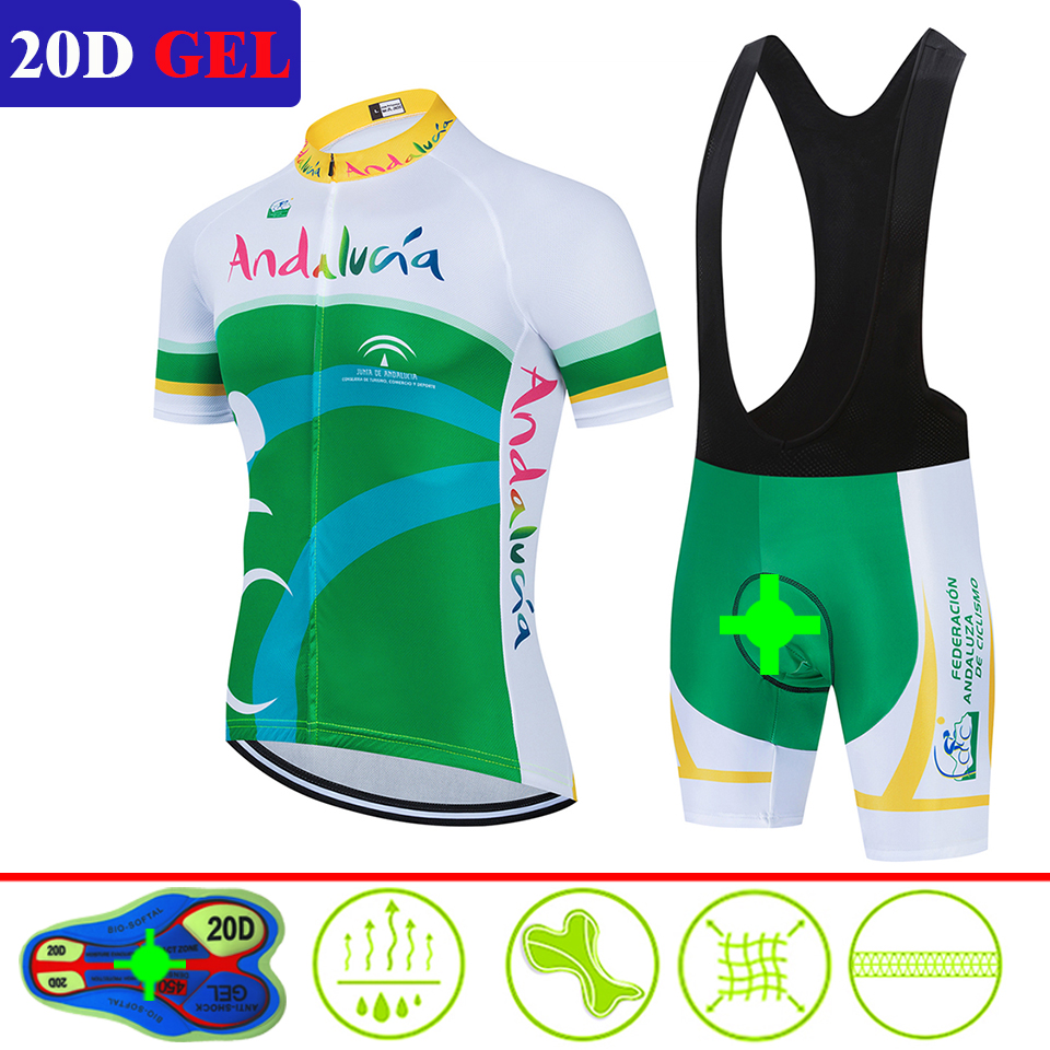 2020 Men's Cycling Jerseys 20D Gel Roupas Ropa Ciclismo Hombre MTB Maillot Cycling/Summer Road Bike Wear Clothes Cycliste Equipe