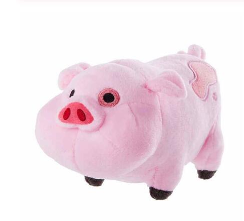 Free shipping Original 16cm 1pcs Gra Pink Pig Waddles Plush Toy with tag patch for birthday gift