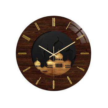 Nowe zegary ścienne modne zegarki 2021 Ramadan Festival Metal islamski zegar ścienny Artislamic Home Decor islamski wystrój tanie i dobre opinie ISHOWTIENDA CN (pochodzenie) Nowoczesne 0614 GEOMETRIC S SHOWN Jedna twarz Cyfrowy ZAGARY ŚCIENNE AS SHOWN Obracalne w starodawnym stylu