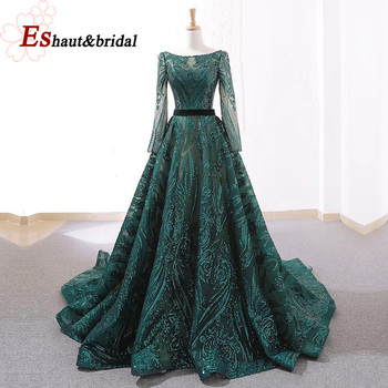 Luxury Evening Long Sparkle Party Gowns