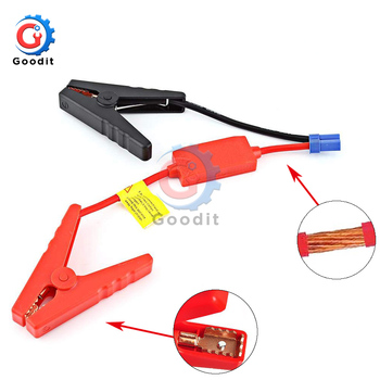 Plug Connector Emergency Lead Cable Booster Cable For Auto Car Battery Connection Jumper Jump Start Prevent Reverse Charge New image