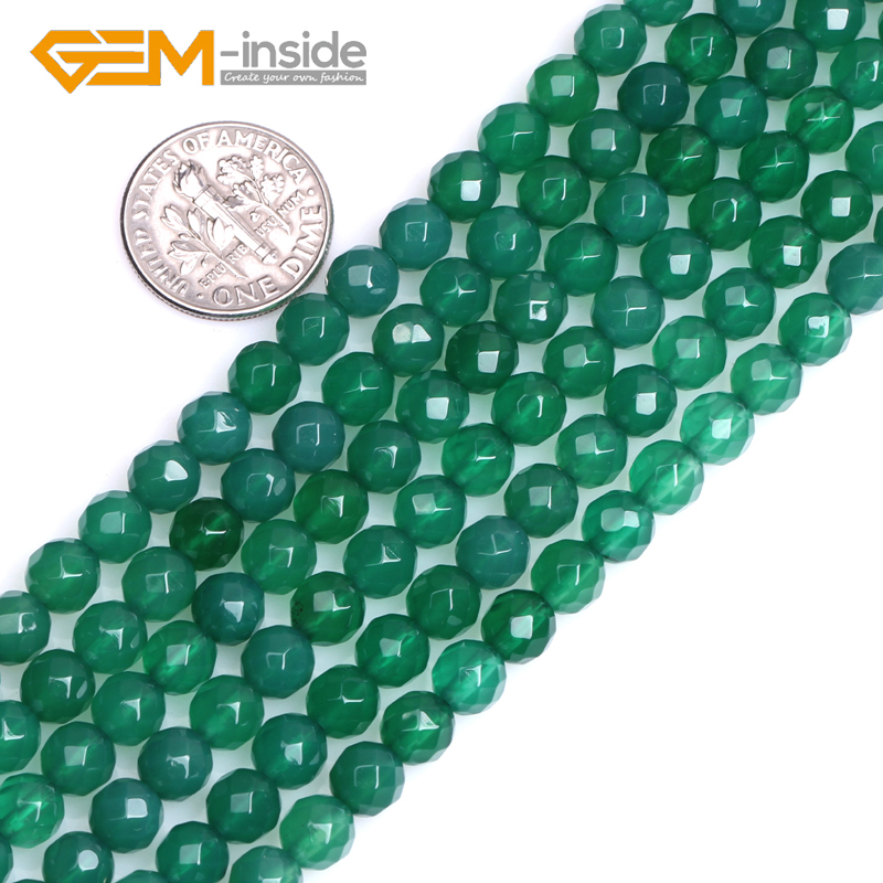 """4 Mm Facettes Peridot Loose Beads Gemstone 15/"""""""