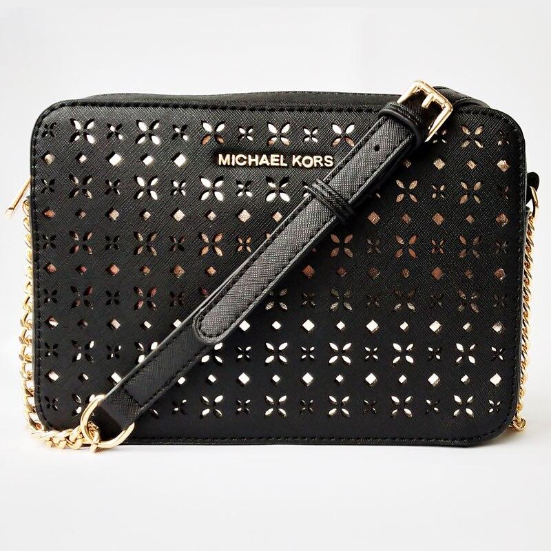 Luxury Lady Shoulder Bag 2019 New Hollow Bag Fashion Chain Small Square Bag Women Designer Shoulder Messenger Bag Crossbody Bags
