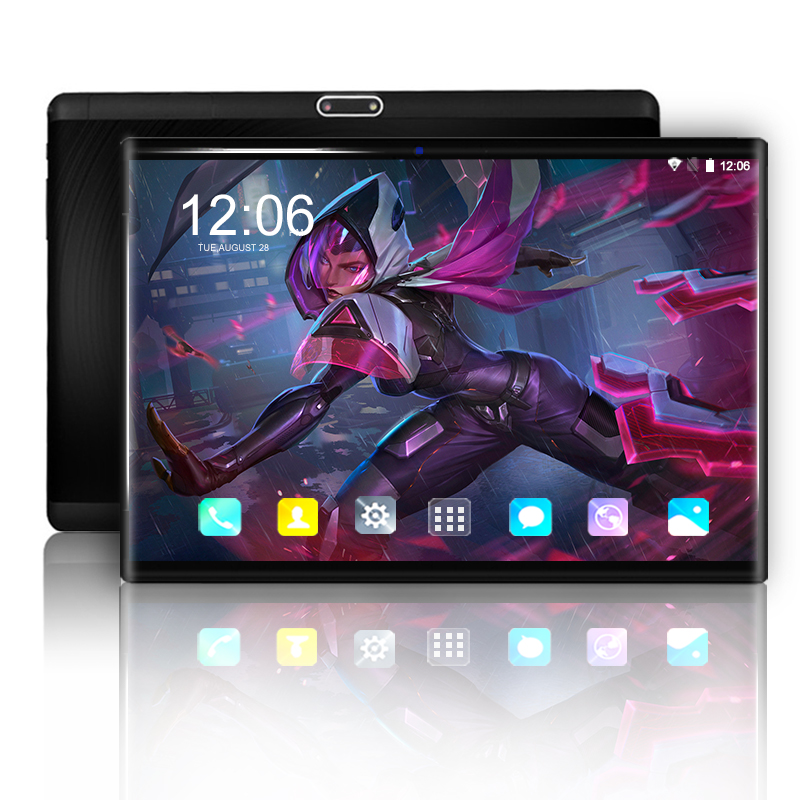 11.11 Original 10 Inch Tablet PC Android 9.0 Octa Core 6GB+128GB 3G 4G LTE Smart Phone 1280*800 IPS WIFI Kids Tablets 10 10.1