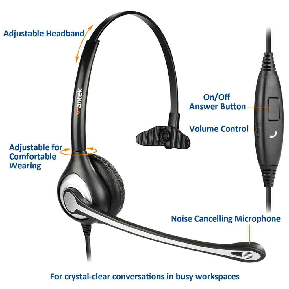 Wantek Noise Canceling Mic 3 5mm Phone Headset For Iphone Samsung Galaxy Huawei Mi Mobile Phone Ipad Tablet Laptop Mac Pc Skype Aliexpress