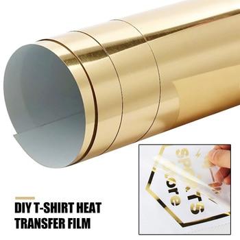 Papel láser duro creativo impresoras de inyección de tinta dorado telas tela plancha en papel camiseta papel de impresión Diy imagen papel de transferencia de calor