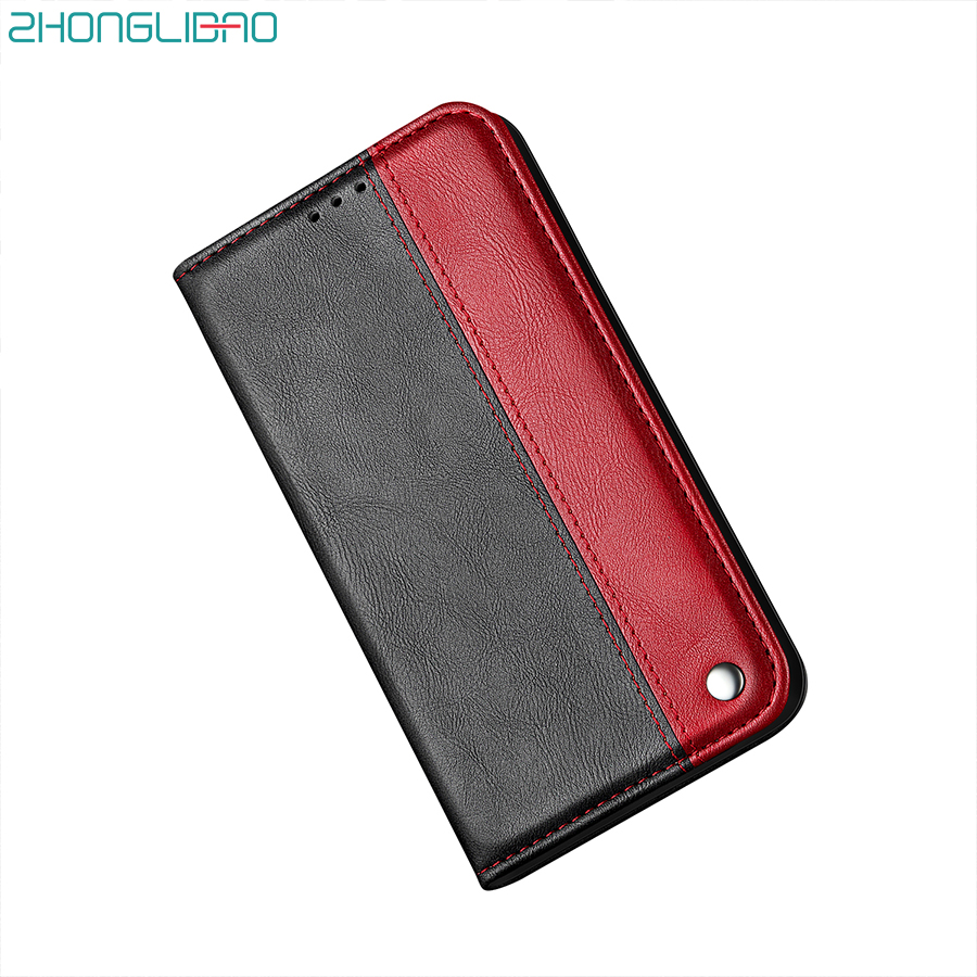 Luxury Leather Case for <font><b>Samsung</b></font> Galaxy Note 10 S10 S9 S8 Plus S10e <font><b>A</b></font> 70 50 <font><b>40</b></font> 30 20 10 S7 S6 Edge M30 Magnetic Flip Wallet Cover image