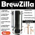 BREWZILLA 35L GEN.3.1 HAUSE BRAUEN ALLE IN EINEM-in Bier brauen aus Heim und Garten bei