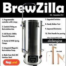 BREWZILLA 35L-GEN.3.1-cerveza