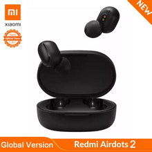 Xiaomi Redmi AirDots 2 Global Version In Ear Bluetooth 5.0 Wireless Headphones Earphones With Mic Handsfree Earbuds AI Control