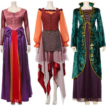 Hocus Pocus Cosplay Mary Sarah Winifred Sanderson Cosplay