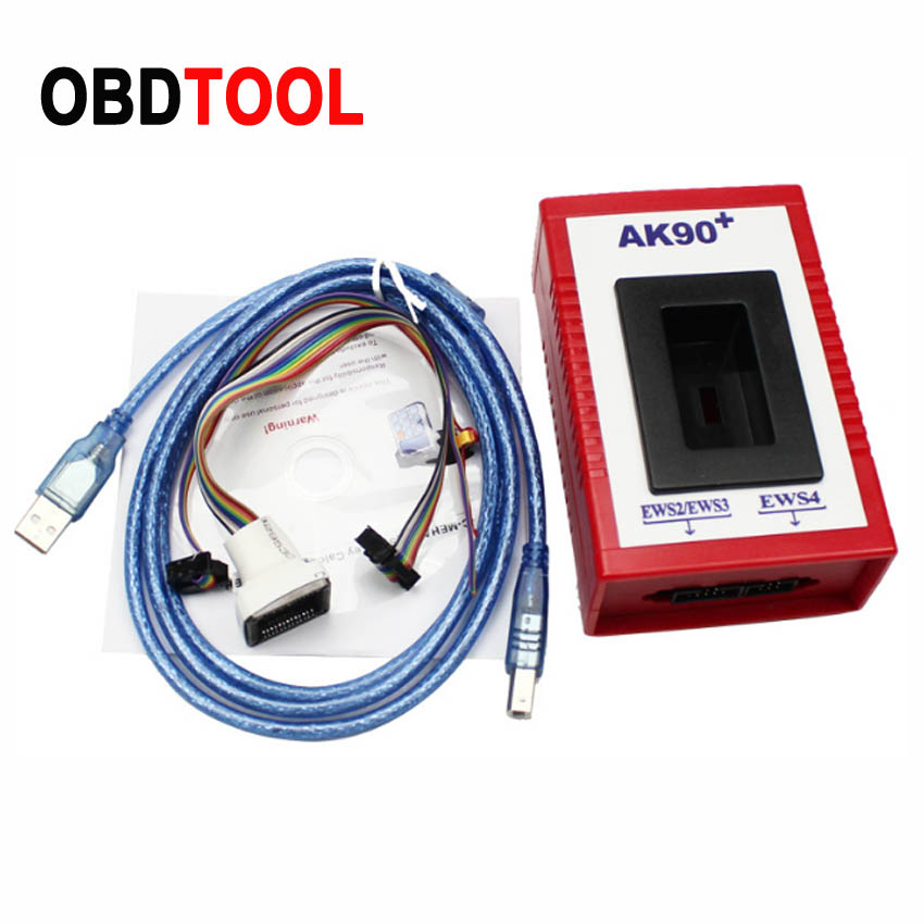 New Version V3.19 AK90 Key Programing Tool AK90+ For BMW Car From 1995-2009 Year AK90 Key Programmer AK-90 EML 10030A Chips Keys