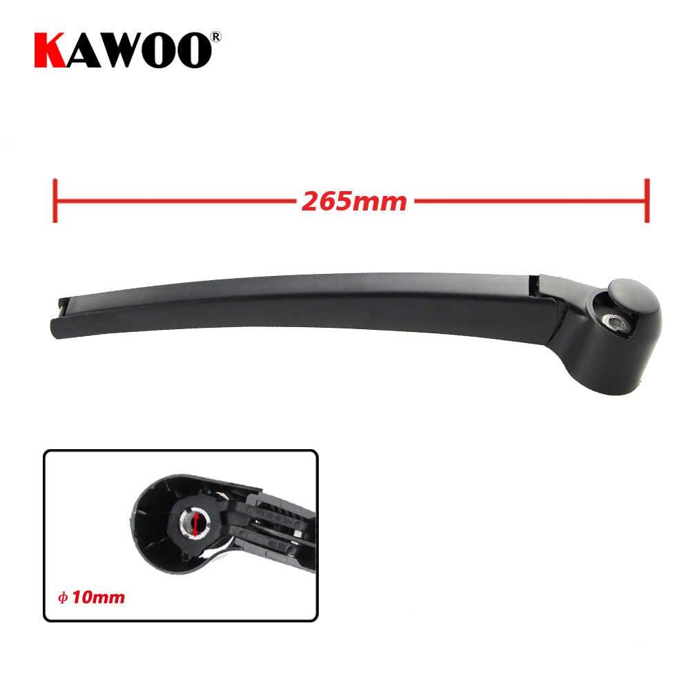 Kawoo 車のリアワイパー刃バックウィンドウワイパーフォルクスワーゲン vw ゴルフ 5 用ハッチバック (2004-2008) 335 ミリメートルフロントガラスワイパー