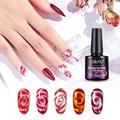 Цветочный Гель-лак Elite99 10 мл для дизайна ногтей Цветочный эффект цветочный эффект УФ-гель для ногтей удаляемый замачиванием Гибридный Гель-...