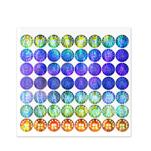 Laser Hologram Original Sticker Warranty Dots Labels Anti-fake Laser Stickers Customizable