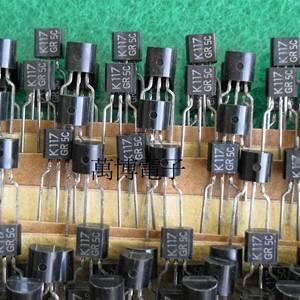 Image 2 - 6 Pcs 2SK117 GR 2SK117GR K117 2SK117 Nuovi Prodotti Made in Japan