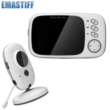 Security-Camera Baby-Monitor Video-Color Night-Vision Wireless High-Resolution