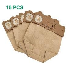 15 pçs/lote saco de pó sacos de limpeza ajuste para Vorwerk aspirador peças VK130 VK131 kobold130 131 FP131