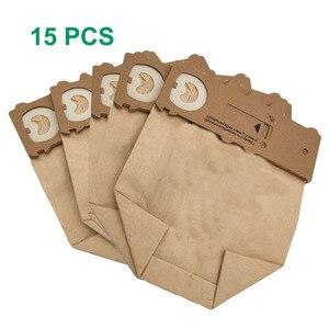 Image 1 - 15 pcs /lot dust bag cleaning bags fit for Vorwerk Vacuum cleaner parts VK130 VK131 kobold130 131 FP131