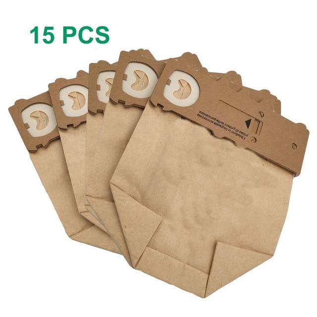 15 pcs /lot dust bag cleaning bags fit for Vorwerk Vacuum cleaner parts VK130 VK131 kobold130 131 FP131