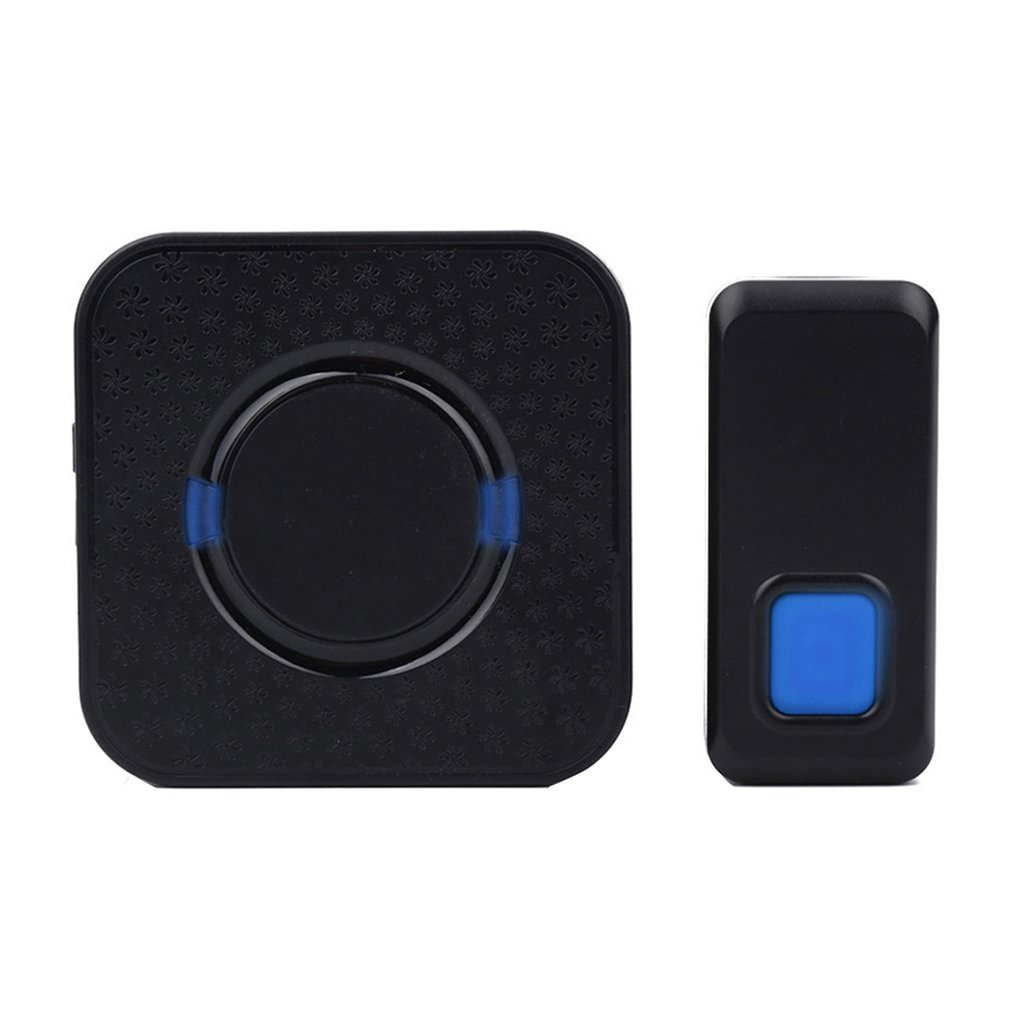 Wireless Doorbell Smart Cordless Door Bell Waterproof 55 Melodies For Warehouses