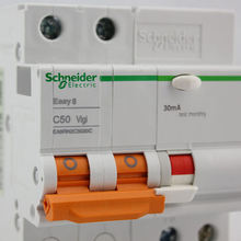цена на 2P 50A Short Circuit Leakage Protection Circuit Breaker E9 Series EA9R Air Switch