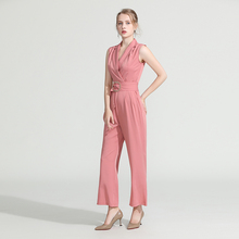 2019 Summer Women Fashion Elegant Office Workwear Casual Rom