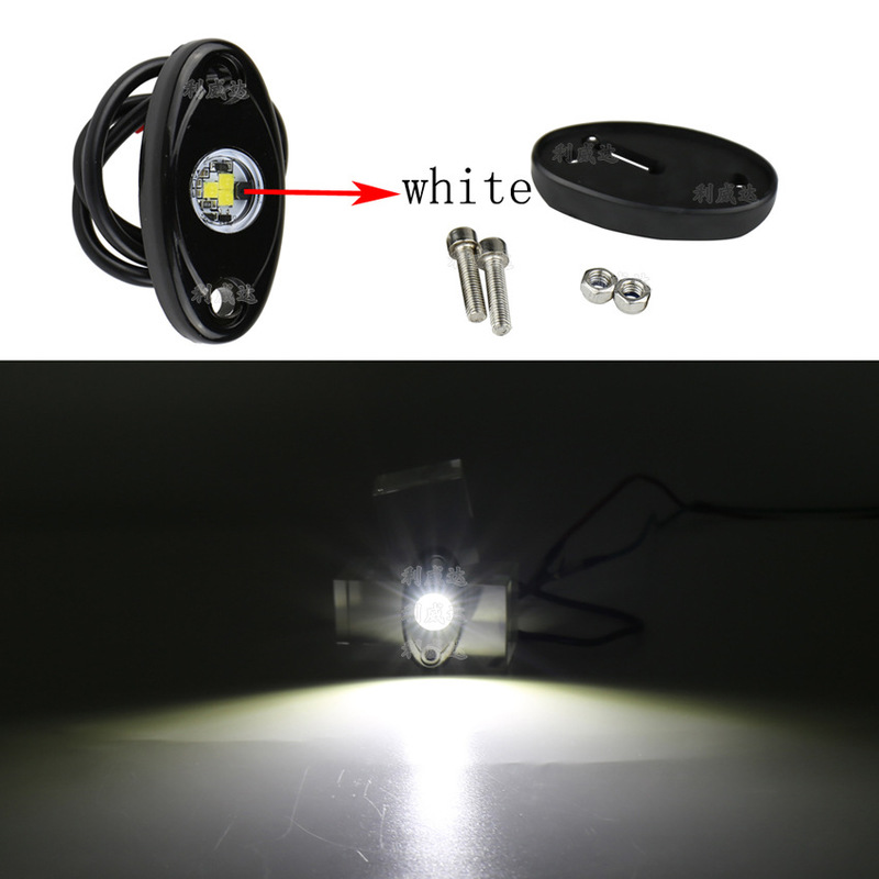 9V ~ 14V Automobile Chassis Light 9W White Light Atmosphere Light Led Vehicle Bottom Light Deck RV Decorative Light