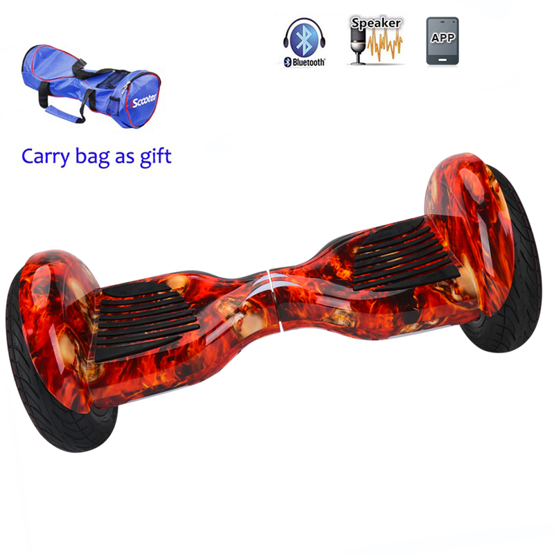 Buy Latest 10 Inch Self Balancing Hoverboard With Two Wheels And Bluetooth Geekyviews