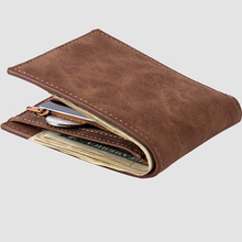 Fashion Luxury Brand Leather Men Wallets Small Money Purses New Design Dollar Price Thin Wallet Business Card Holder Coin Bag with coin bag zipper new men wallets mens wallet small money purses wallets new design dollar price top men thin wallet 125 1