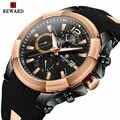 REWARD Sports Chronograph Watch Men Silicone Strap Military Casual Waterproof Mens Quartz Watches Top Brand Luxury Male Clock