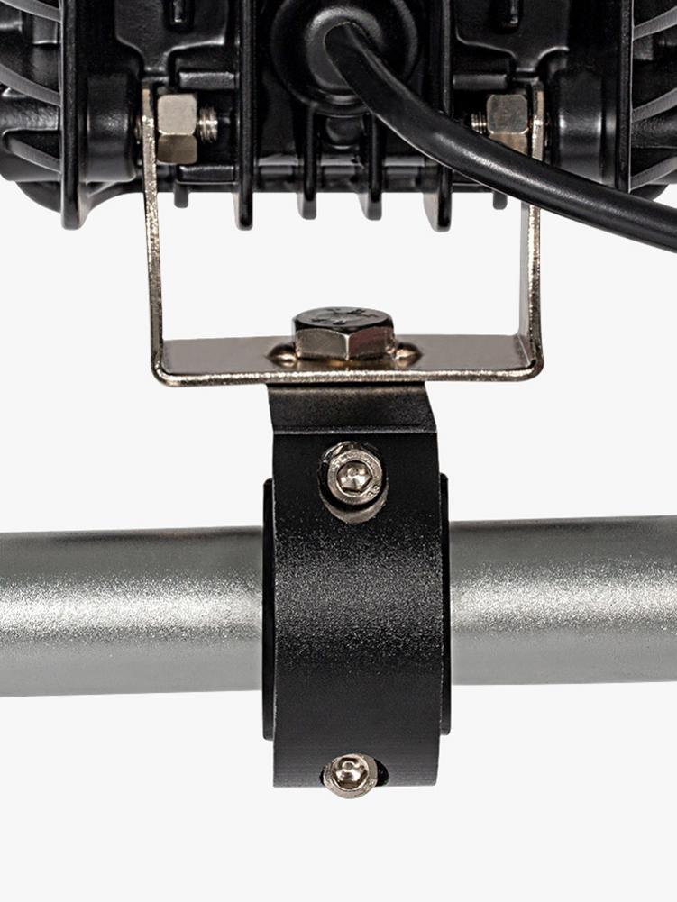 Motorbike LED Light Bar Clamps Brackets Tube Clamp Mount Kit For Motorcycle Fog Light Mount