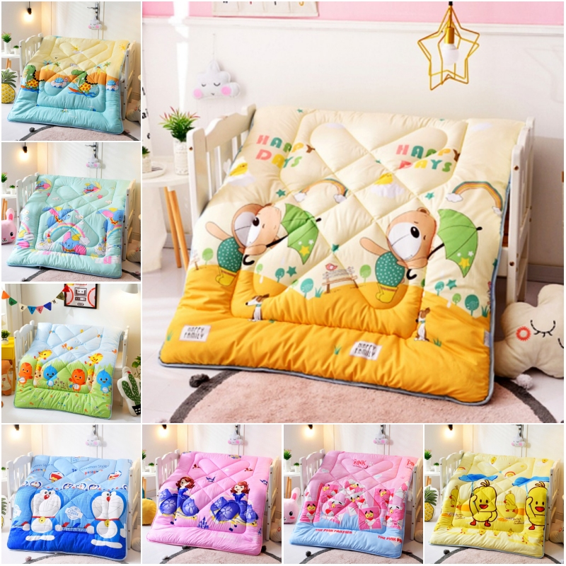 100% Polyester Cute Cartoon Bear Pink Panther Spring Autumn Winter 120x150cm Quilt Core for Kids Boys Girls Baby Bed 0.6m 1.0m