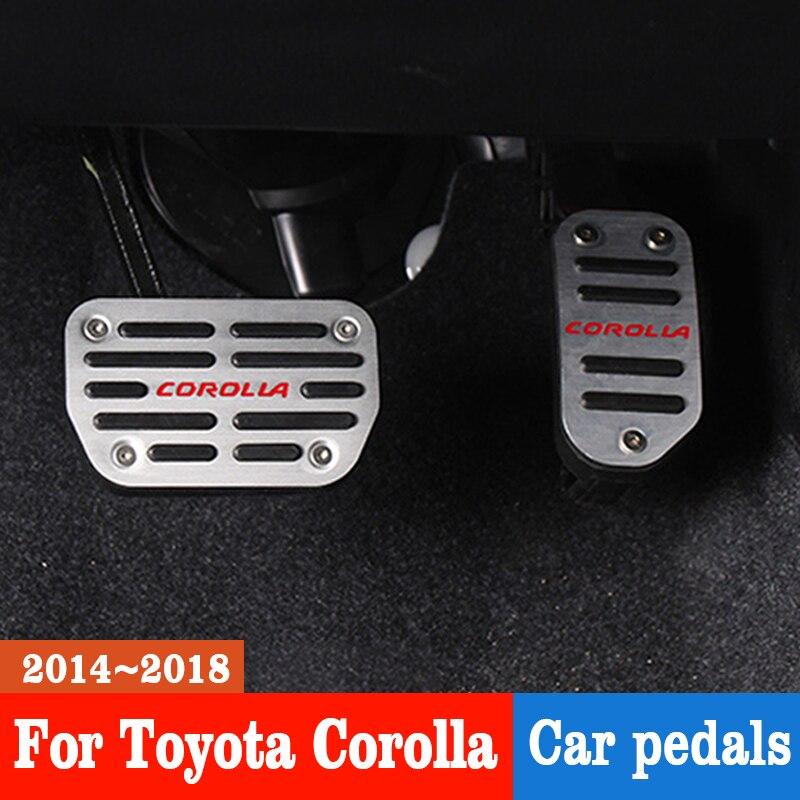 TAKPART 47121-12020 Brake Pedal Pad Compatible for Corolla 1975-2008 Automatic