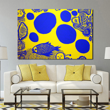 Yayoies Kusamaor In Infinity Wall Art Canvas Poster And Print Canvas Painting Decorative Picture Living Room Home Decor Artwork modern artwork top rated canvas print painting 5 pieces anime one piece artistic poster logo picture wall art home decorative