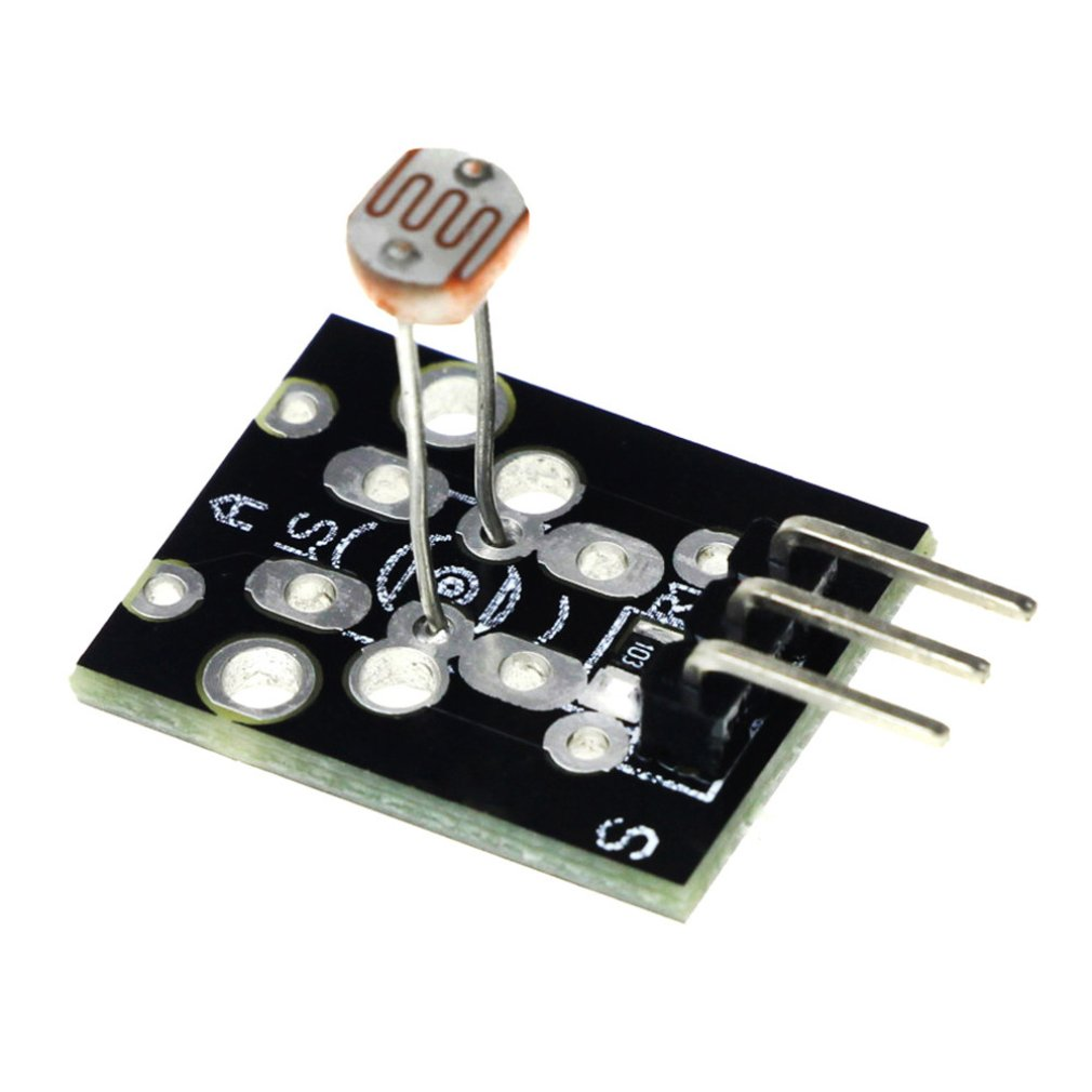 Photosensitive Resistor Module Ky-01 Can Be Used For Light Detection Brightness Detection Photoresistor Module