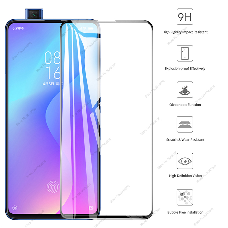 9D Tempered Glass For Xiaomi Mi 9T Mi9 T Mi9T Pro Redmi K20 K 20 Pro Glass Film Xiomi Mi 9T Redmi K20 Pro Protective Glass Cover(China)