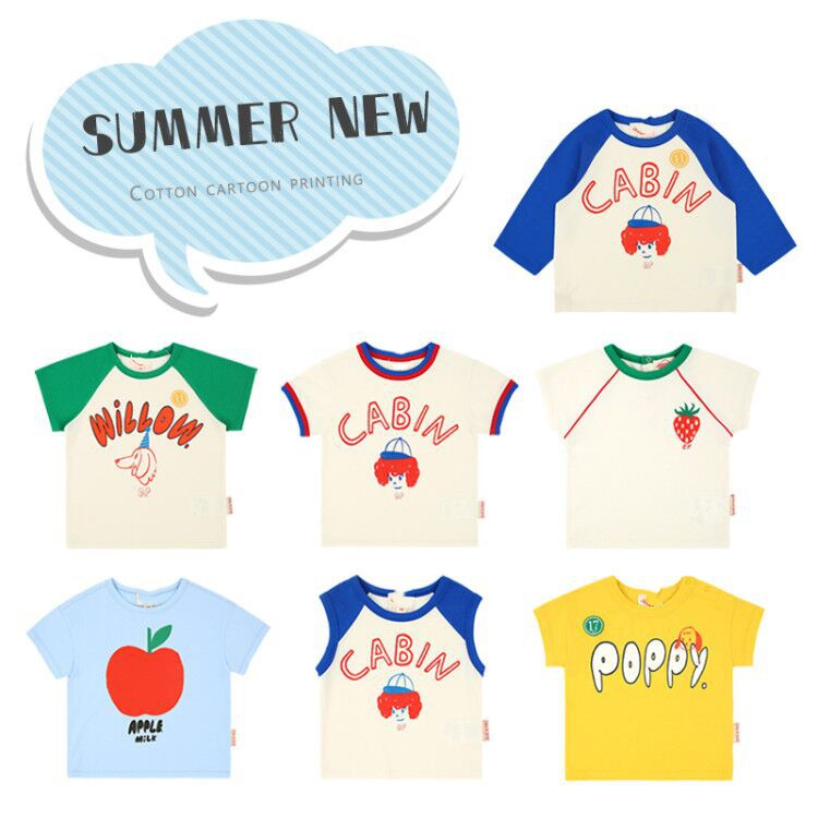 ZMHYAOKE-be 2020 Summer Baby Girl Clothes Baby T-shirts Toddler Girl T-shirts Clothes Kids T-shirt For Girls Top Christmas Shirt