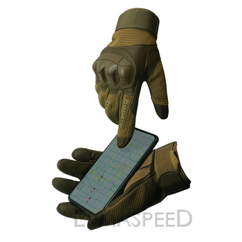 1 Pair Motorcycle Gloves Leather Tactical Military Full Finger Motocross Enduro Cycling Racing Riding Gloves for Dirt Bike Sport 2
