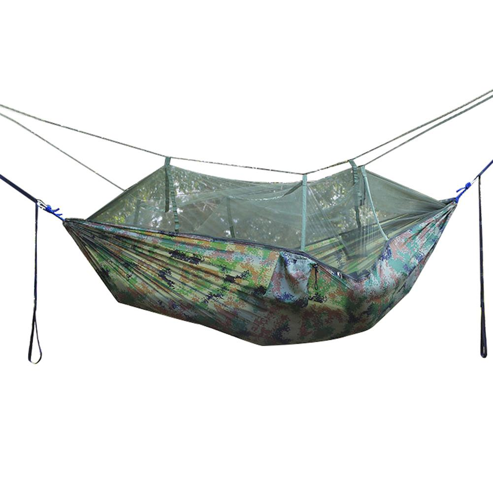 Durable Portable Travel Camping Jungle Outdoor Swing Hammock Mosquito Net Hanging Bed