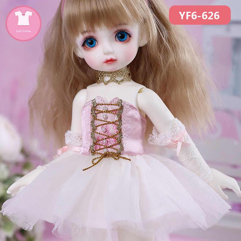 Ropa BJD N9 Pio Body 1/6 BJD SD bonito vestido de muñeca hermosa atuendo OUENEIFS Accesorios