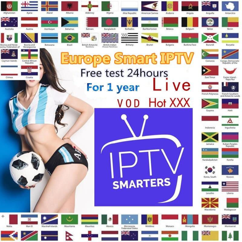 IPTV Subscription 1Year  Sweden Germany Portugal XXX IPTV M3U Android  Spian Italy UK Smart IPTV Greek Nordic France Adult IPTV