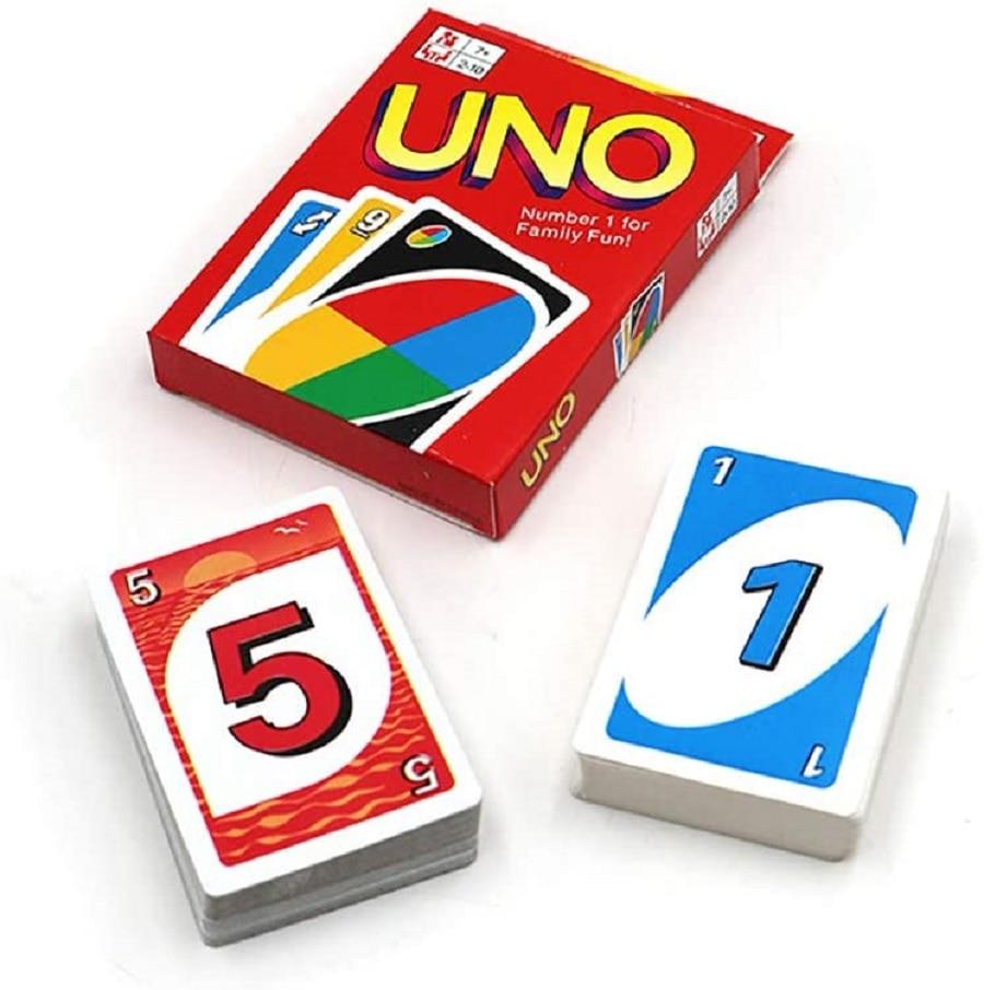 Карточная игра N/D UNO, оригинальная карточная игра Uno, подходит для детей и взрослых