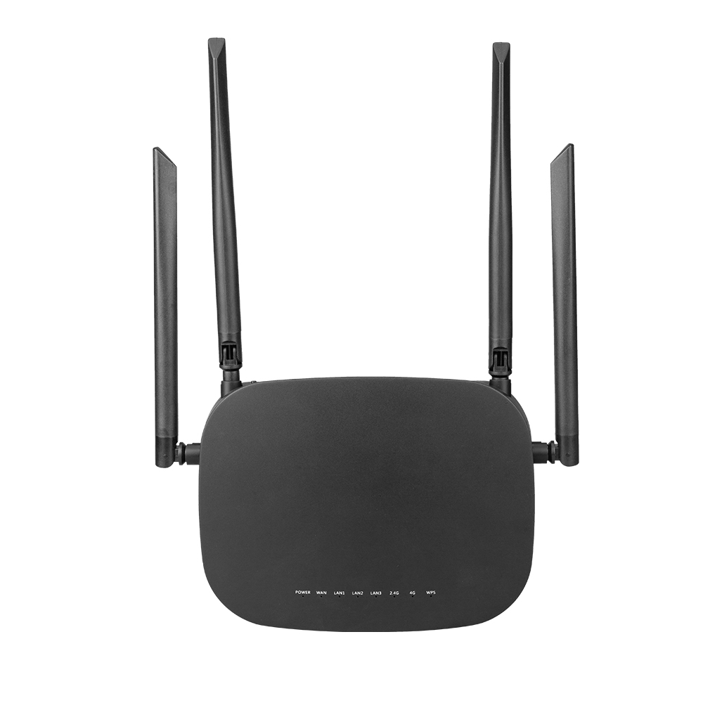 CPE 4G LTE Smart WiFi Wireless Router with 300Mbps Speed and SIM Card Router along With 4pcs External Antennas and Qualcomm Chip 13