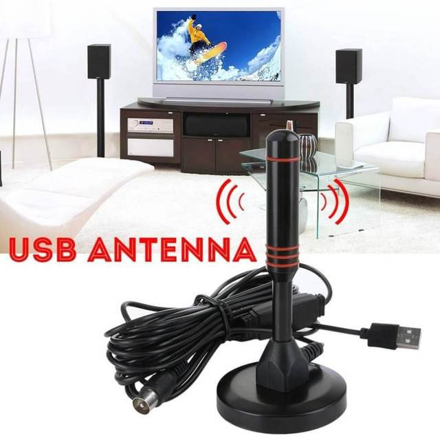 HD Digital Indoor Amplified TV Antenna 200 Miles Ultra HDTV With Amplifier VHF/UHF Quick Response Indoor Outdoor Aerial HD Set 3