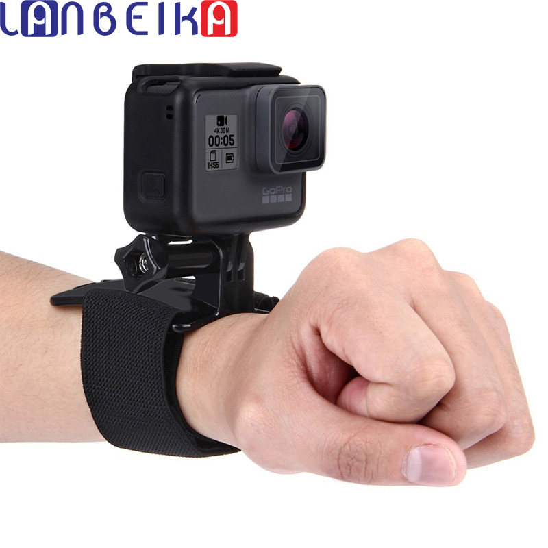 Frugal Lanbeika For Go Pro Accessories Adjustable Wrist Strap Mount For Dji Osmo Action Gopro Hero 8 7 6 5 4 3+ Sjcam Sj4000 Sj8 Sj9 Yi Pleasant To The Palate
