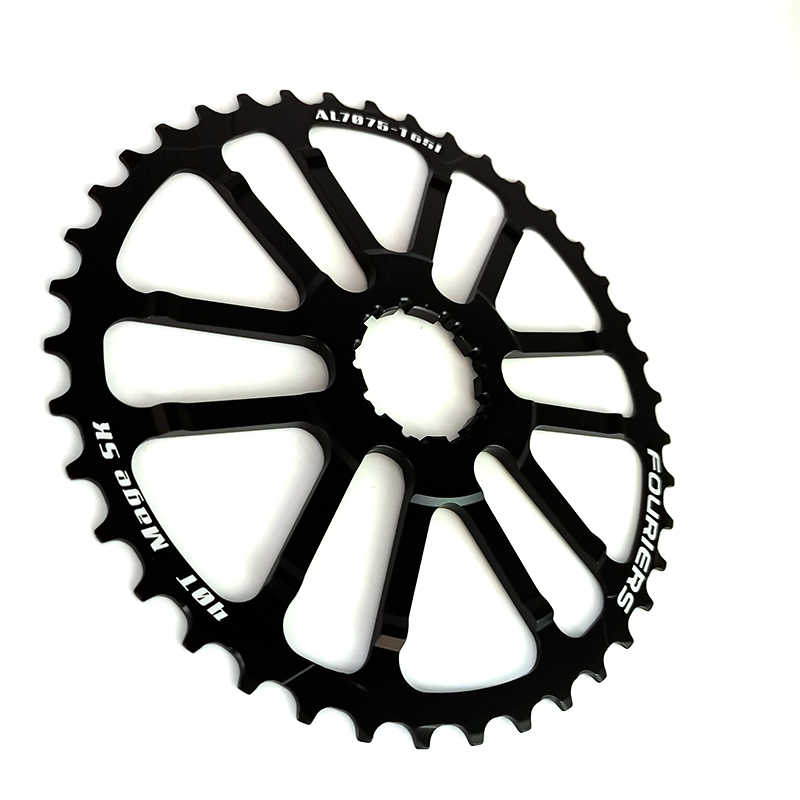 FOURIERS CNC 40T Teeth Cog Cassette Sprocket for 10s Shimano Deore XT XTR Sram