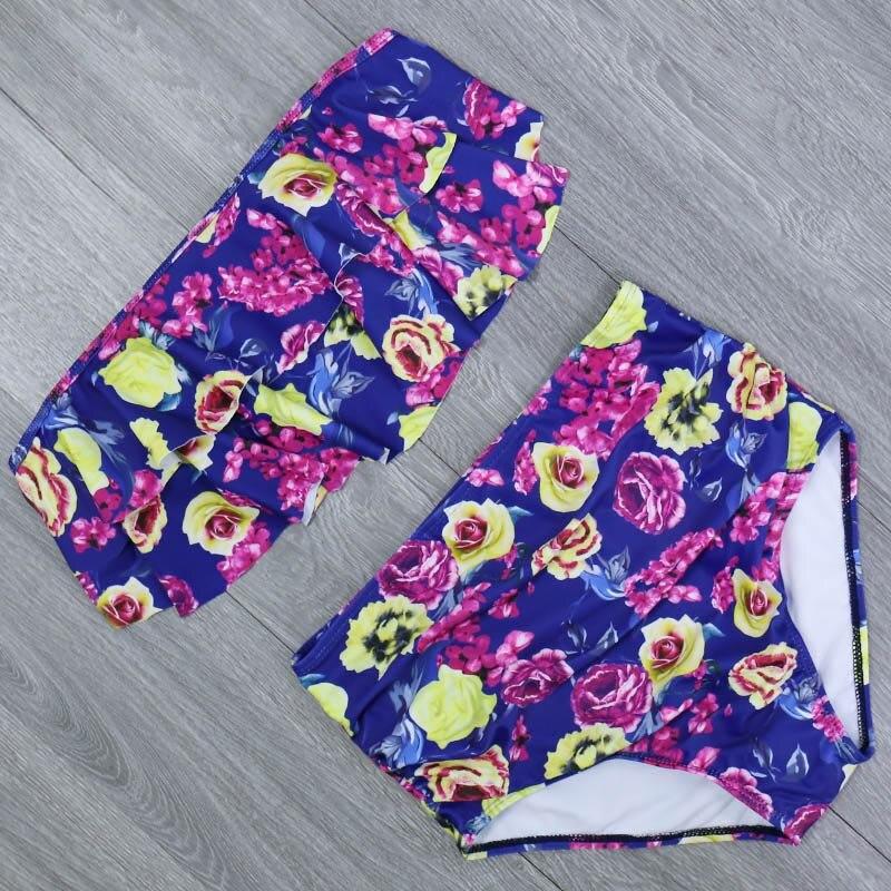 Haed9ffcb543441ecbad3671ceb0c6c37O 2019 New Bikinis Women Swimsuit High Waist Bathing Suit Plus Size Swimwear Push Up Bikini Set Vintage Beach Wear Biquini